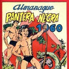 Tebeos: ALMANAQUE PANTERA NEGRA , 1960 , ORIGINAL ,J19. Lote 104808278