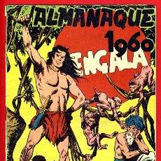 Tebeos: ALMANAQUE BENGALA , 1960 , ORIGINAL ,J22. Lote 35348641