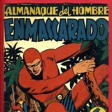 Tebeos: ALMANAQUE HOMBRE ENMASCARADO , 1947 , ORIGINAL, J. Lote 35476613