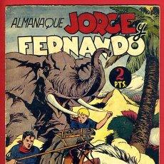 Tebeos: ALMANAQUE JORGE Y FERNANDO , 1945 , ORIGINAL , J. Lote 35476705