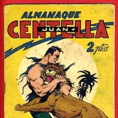 Tebeos: ALMANAQUE JUAN CENTELLA , 1944 , ORIGINAL , J. Lote 35476753