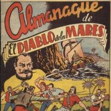 BDs: DIABLO DE LOS MARES - ALMANAQUE 1949. Lote 35575465