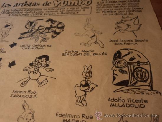 Tebeos: Almanaque 1955 de Yumbo y de Roberto Alcázar y Pedrín. Ver descripción - Foto 7 - 32448259