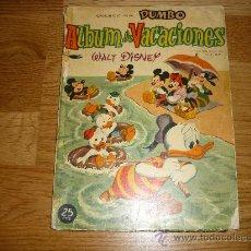 Tebeos: DUMBO ALBUM DE VACIONES 1960. Lote 36139510