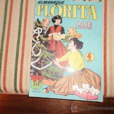 Tebeos: FLORITA ALMANAQUE 1956. Lote 36492885
