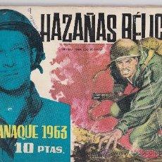 Tebeos: HAZAÑAS BELICAS ALMANAQUE 1963. Lote 36953269