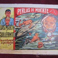 Tebeos: LUIS MARTIN Y GUILLERMITO. LOS AVENTUREROS ESPAÑOLES. EJEMPLAR ÚNICO. PUBLICACIONES ECE 1953. Lote 37237725