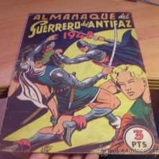Tebeos: EL GUERRERO DEL ANTIFAZ. ALMANAQUE 1948 (ORIGINAL ED. VALENCIANA ) (COIB97). Lote 37405017