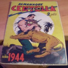 Tebeos: JUAN CENTELLA. ALMANAQUE 1944 (ORIGINAL ED. HISPANO AMERICANA) (CLA3). Lote 37405142