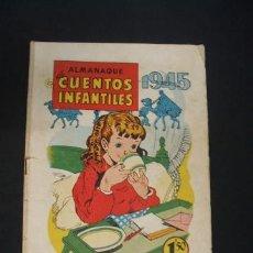 Tebeos: ALMANAQUE DE CUENTOS INFANTILES - 1945 - EDITORIAL BRUGUERA - . Lote 37893278