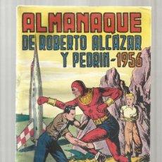Tebeos: ROBERTO ALCAZAR ALMANAQUE DE 1956. Lote 38083450