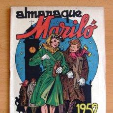 Tebeos: ALMANAQUE MARILÓ 1952 - EDITORIAL VALENCIANA. Lote 38203343