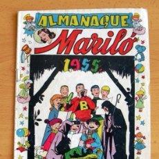 Tebeos: ALMANAQUE MARILÓ 1955 - EDITORIAL VALENCIANA. Lote 38203435