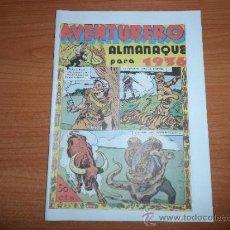 Livros de Banda Desenhada: AVENTURERO ALMANAQUE DE 1936 EDICION FACSIMIL . Lote 38296154