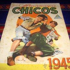 Tebeos: ALMANAQUE CHICOS 1945 ORIGINAL. 4 PTS. GENERAL!!!!!!!!. Lote 38327661