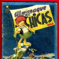 Tebeos: ALMANAQUE MIS CHICAS , 1943 , CONSUELO GIL , ORIGINAL. Lote 38422087