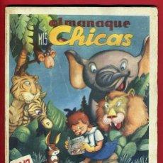 Tebeos: ALMANAQUE MIS CHICAS , 1947 , CONSUELO GIL , ORIGINAL. Lote 38422119