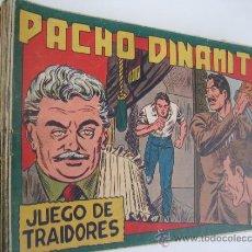 Tebeos: PACHO DINAMITA. LOTE ORIGINAL DE 16 CUADERNILLOS. EDITORIAL MAGA 1951.. Lote 38718584