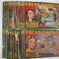 Tebeos: PACHO DINAMITA. LOTE ORIGINAL DE 12 CUADERNILLOS. EDITORIAL MAGA 1951.. Lote 38718644