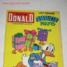 Tebeos: PATO DONALD. ALMANAQUE 1976. 18,5 X 25,5 CM.. Lote 38986096