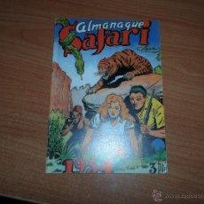 Livros de Banda Desenhada: SAFARI ALMANAQUE 1954 EDICION FACSIMIL . Lote 40696020
