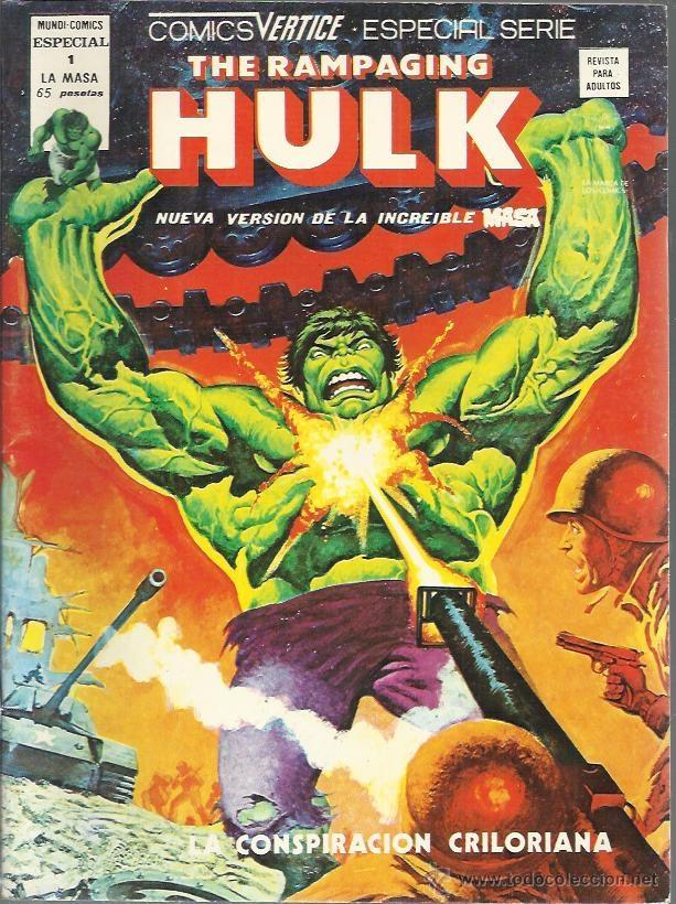 HULK ( VERTICE ) ORIGINAL 1979-1980 LOTE (Tebeos y Comics - Tebeos Almanaques)