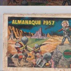 Tebeos: MUNDO FUTURO ,ALMANAQUE 1957. Lote 40764166