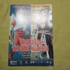 Tebeos: 50 AÑOS DE CAPITAN TRUENO VIII JORNADAS DEL COMIC DE ALMERIA 2005. VER FOTOS DE PARTE DEL INTERIOR. Lote 40881051