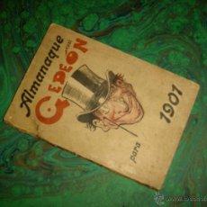 Tebeos: GEDEON (IMPRENTA MODERNA). ALMANAQUE 1901. Lote 41207493