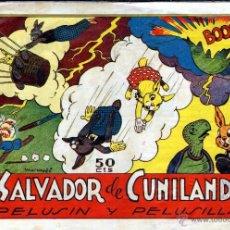 Tebeos: TEBEOS-COMICS CANDY - PELUSIN Y PELUSILLA -VALENCIANA1942-SALVADOR DE CUNILANDIA* *UU99. Lote 41386418