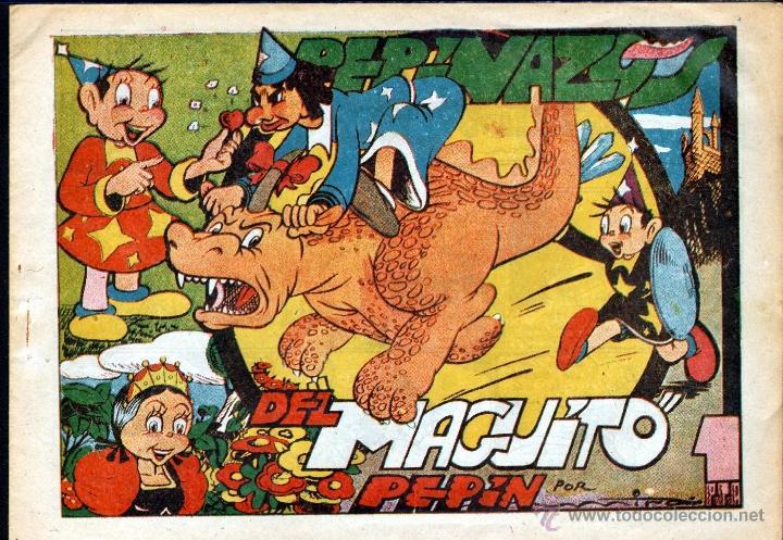 Tebeos: TEBEOS-COMICS CANDY - PEPIN - Nº 3 - IBERO AMERICANAS 1947 - PEPINAZOS DEL MAGUITO PEPIN *AA98 - Foto 3 - 41391854
