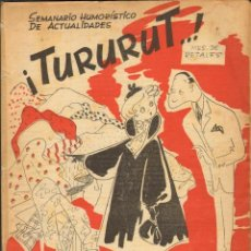 Tebeos: TEBEOS-COMICS CANDY - TURURUT 1 - FOMENTO 1953 - ESCOBAR - MARTZ SCHMIDT - OPISSO - CONTI-ETC *AA99. Lote 41454442