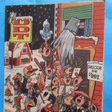 Tebeos: ALMANAQUE DDT PARA 1957 EDITORIAL BRUGUERA. Lote 43227930