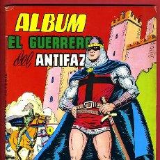 Livros de Banda Desenhada: EL GUERRERO DEL ANTIFAZ , ALBUM , VALENCIANA , ORIGINAL. Lote 237838575