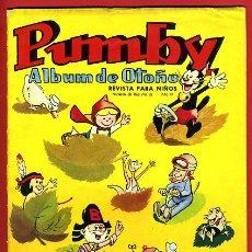 Tebeos: PUMBY , ALBUM DE OTOÑO , 1965 , VALENCIANA , ORIGINAL . Lote 43318335