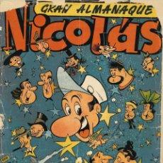 BDs: NICOLAS 1950 ALMANAQUE. Lote 43551833