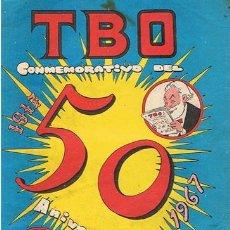 Tebeos: TBO CONMEMORATIVO DEL 50 ANIVERSARIO 1917 - 1967 . Lote 43786708