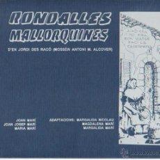 Tebeos: RONDALLES MALLORQUINAS. Lote 43819249