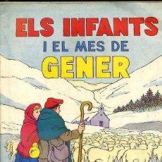 Tebeos: ELS INFANTS I EL MES DE GENER 1957 - HISPANOAMERICANA - EN CATALÁN. Lote 44952415