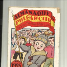 Tebeos: ALMANAQUE DE PULGARCITO 1924 EL 3º DE LA COLECCION. Lote 45011117