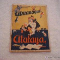 Tebeos: ATALAYA ALMANAQUE 1945. Lote 45147987