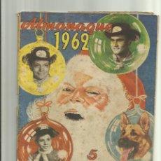 Giornalini: RIN TIN TIN ALMANAQUE 1962. Lote 45472384