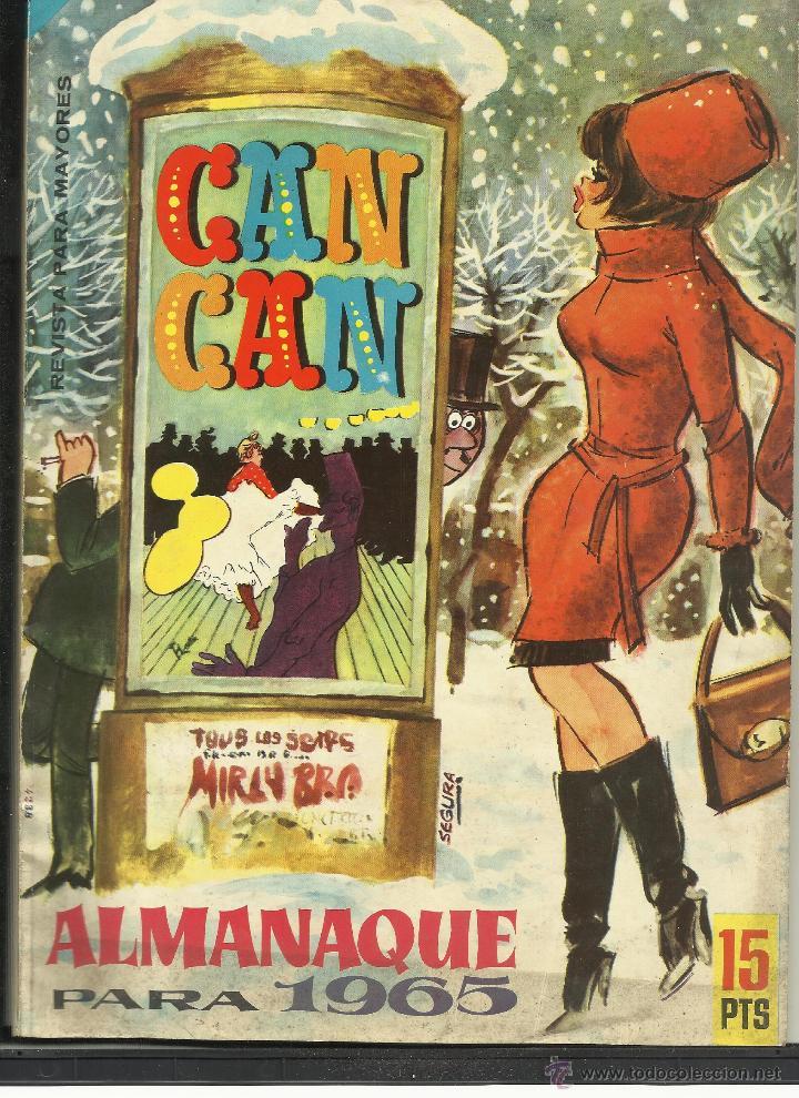 CAN CAN ALMANAQUE 1965 (Tebeos y Comics - Tebeos Almanaques)