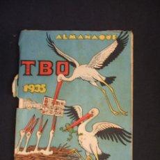 Tebeos: TBO - ALMANAQUE 1935 - . Lote 46172193