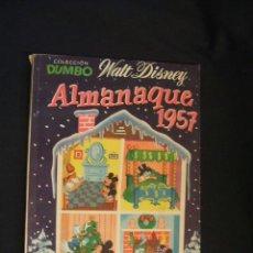 Tebeos: DUMBO ALMANAQUE 1957 - ERSA - . Lote 46251772