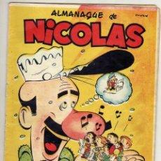 Tebeos: CLIPER NICOLAS Nº 69 ES ALMANAQUE 1952 . Lote 46355385