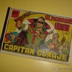 Livros de Banda Desenhada: EL CAPITAN CORAJE (TORAY). ALMANAQUE 1951. Lote 46415551