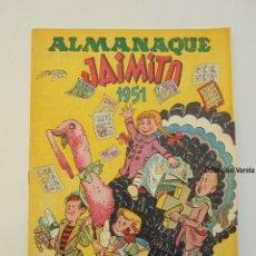 Livros de Banda Desenhada: ALMANAQUE JAIMITO 1951 - VALENCIANA - MUY BUENO - ORIGINAL. Lote 47412062