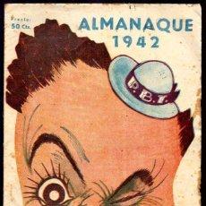 Tebeos: ALMANAQUE 1942. P.B.T. GRAFICAS MARCO. EL DE LA FOTO. Lote 47483950