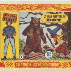 Tebeos: TOM BILL Nº 1. HISPANO AMERICANA 1954.. Lote 47749191